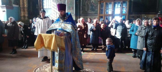 Литургия в праздник Покрова Пресвятой Богородицы
