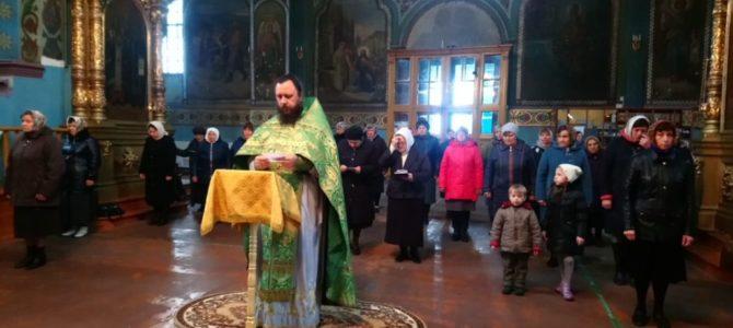Литургия  в день преставления преподобного Сергия, игумена Радонежского чудотворца