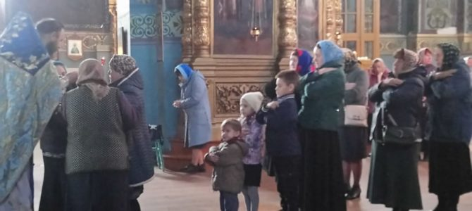 Литургия в праздник Иверской иконы Божией Матери