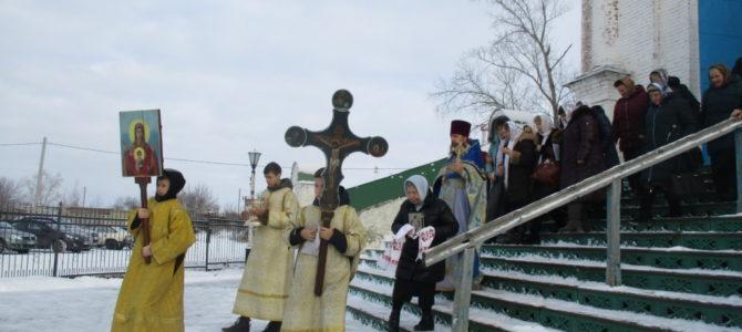 Престольный праздник в Свято — Троицком храме