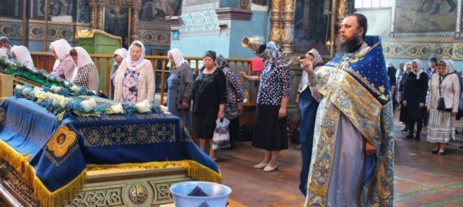 Литургия в праздник Успения Пресвятой Богородицы